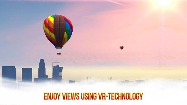 VR Skydiving Flying Air Race: Cardboard VR Game screenshot 2