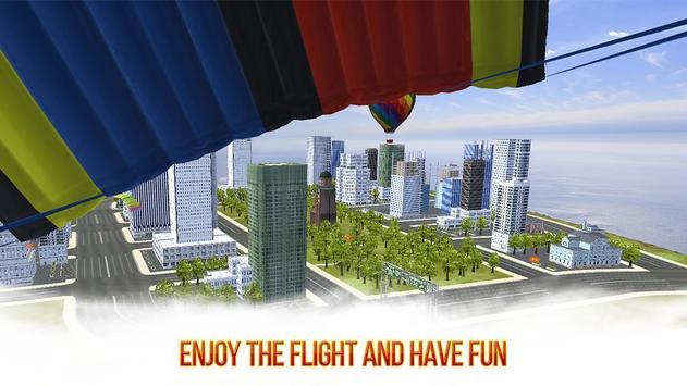 VR Skydiving Flying Air Race: Cardboard VR Game screenshot 3