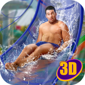 Water Slide Park Tycoon 3D icon