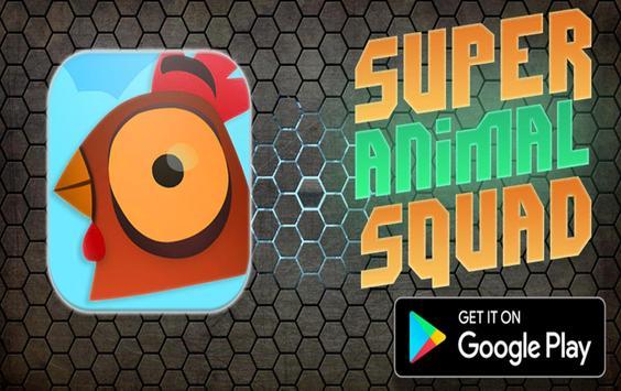 Super Animal Squad 🐔 poster