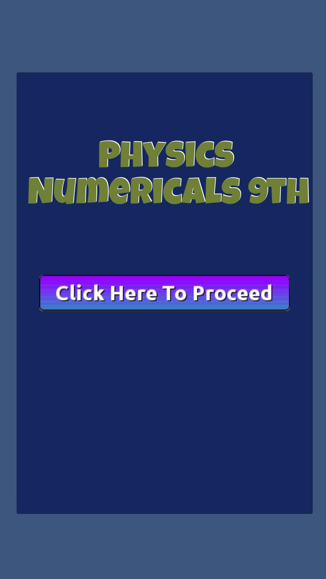 Physics Numericals And S/A 9th for Android - APK Download