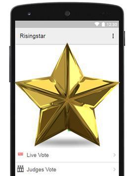 Rising Star Voting poster