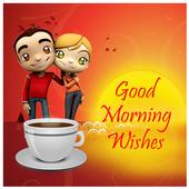 Good Morning Greeting icon