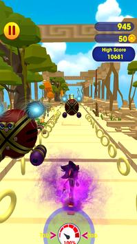 Super subway rush sonic screenshot 3