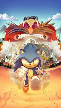 Super subway rush sonic poster