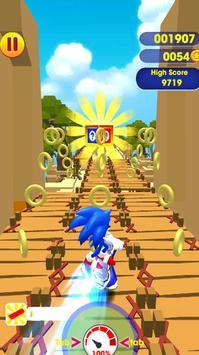 Super subway rush sonic screenshot 1