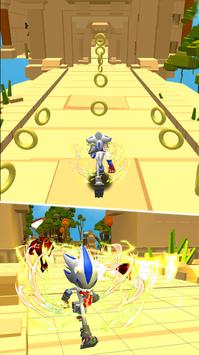 Super subway rush sonic screenshot 2