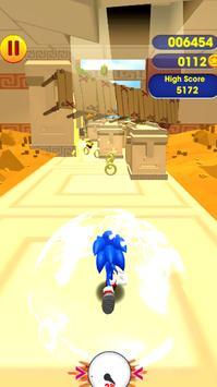 Super subway rush sonic screenshot 7