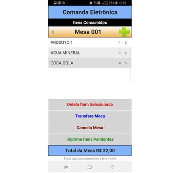 SuperSyS Controle de Mesas screenshot 5