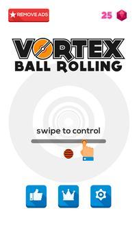 Rolly Vortex Ball poster