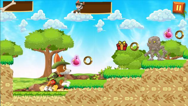 Super Paw Run Patrol Adventure Game screenshot 1