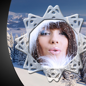 Snowfall Photo Frames icon
