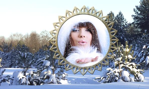 Snowfall Photo Frames apk screenshot