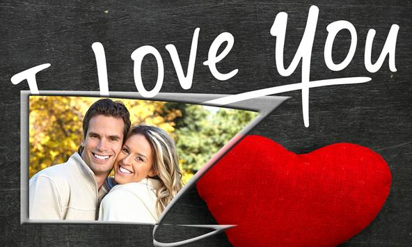 Valentine's Day Photo Frames poster