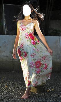 Woman Long Dress Photo Montage apk screenshot