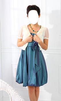 Girl Short Dress Photo Montage apk screenshot