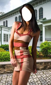 Sexy Dress Photo Montage poster