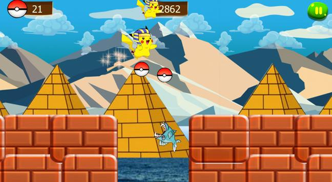 super pikachu run adventure screenshot 4