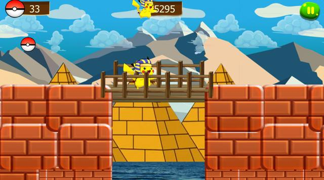 super pikachu run adventure screenshot 5