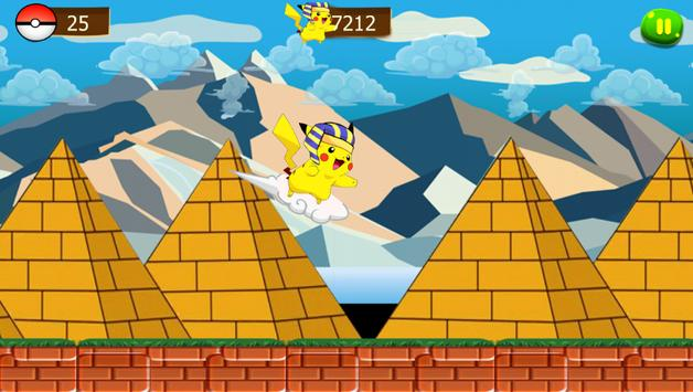 super pikachu run adventure screenshot 6