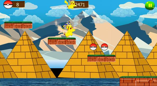 super pikachu run adventure screenshot 7