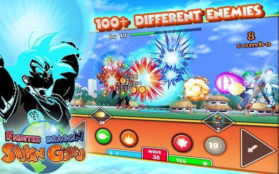 Fighter Dragon Saiyan Goku poster