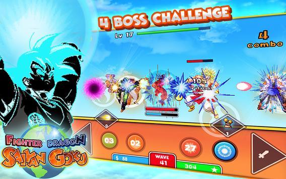 Fighter Dragon Saiyan Goku apk screenshot