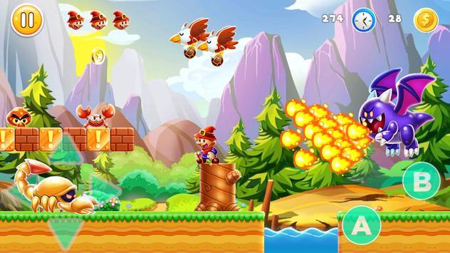 Super Platform Adventure screenshot 1