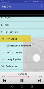 Rita Ora Songs screenshot 1