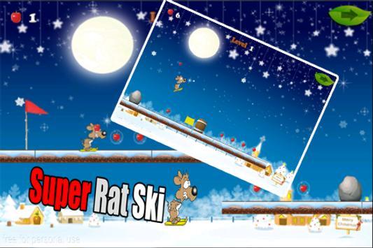 Super Rat ski poster