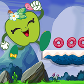 Super Run Apple Shopkins Adventure World icon