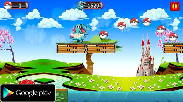 Super Totodile Adventure screenshot 2