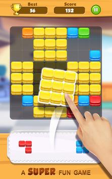 Tasty Block Puzzle - Fun puzzle game with blocks poster
