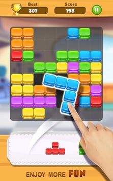 Tasty Block Puzzle - Fun puzzle game with blocks screenshot 2