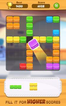 Tasty Block Puzzle - Fun puzzle game with blocks screenshot 3
