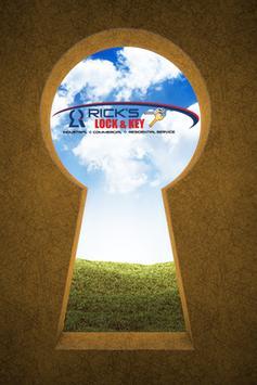 Rick's Lock and Key poster