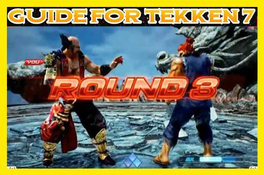Guide For Tekken 7 poster