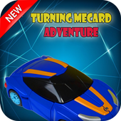 Racing Adventure Turning Mecard Game icon
