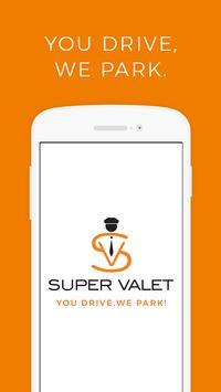 SuperValet: On Demand Valet Services | Mumbai poster