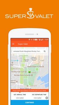 SuperValet: On Demand Valet Services | Mumbai screenshot 1