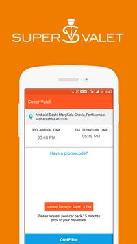 SuperValet: On Demand Valet Services | Mumbai screenshot 2
