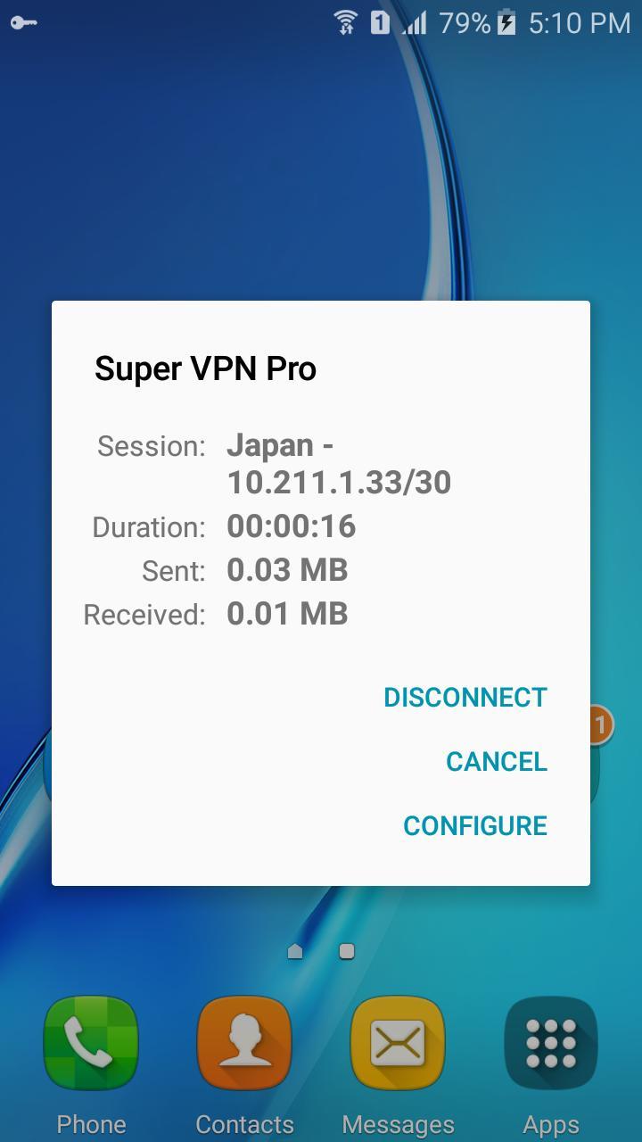Super VPN free hotspot client unblock proxy master for Android - APK
