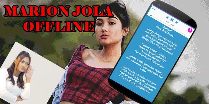 Marion Jola (Jangan) Offline MP3 + Lirik screenshot 1