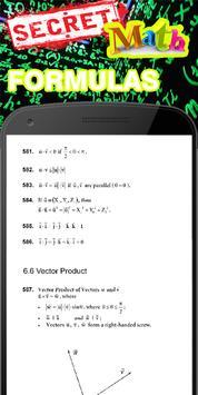 1000+ Secret Math Formulas apk screenshot
