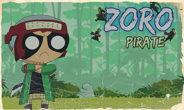 Super ZORO Pirate Evolution apk screenshot