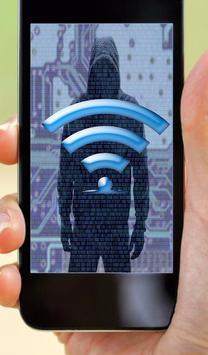 Hack WIFI password simulator poster