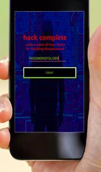 Hack WIFI password simulator apk screenshot