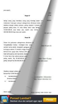 Undang Undang KRDT apk screenshot