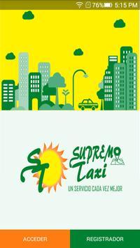 SupremoTaxi poster