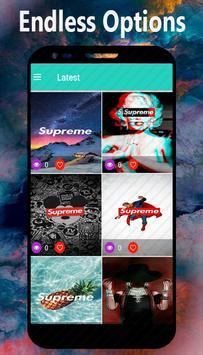 SUPREME WALLPAPERS Dope SwagCool Screenshot 3